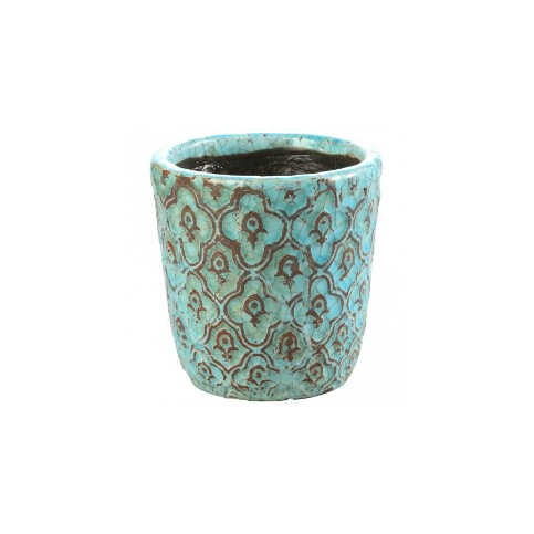 Macetero Cerámica - Maya blue ceramic - (varios tamaños)