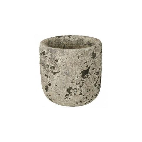 Macetero Cerámica (Carbon White Ceramic)