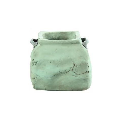 Macetero Cerámica (Dull green ceramic)