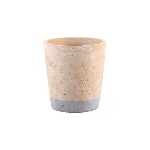 Macetero Cerámica (Kane orange ceramic)