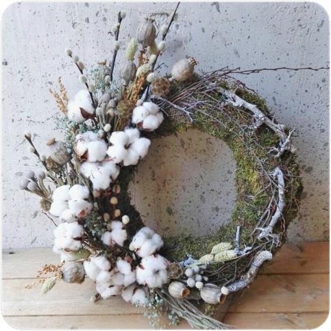 Corona de Invierno Musgo