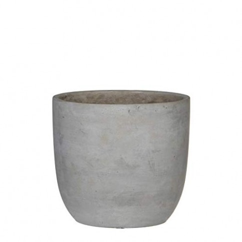 Macetero Cemento redondo CLIFF