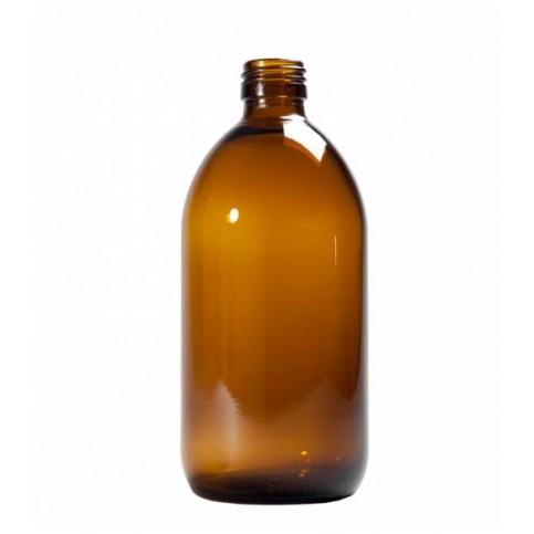 Jarrón-florero AMBAR Cristal