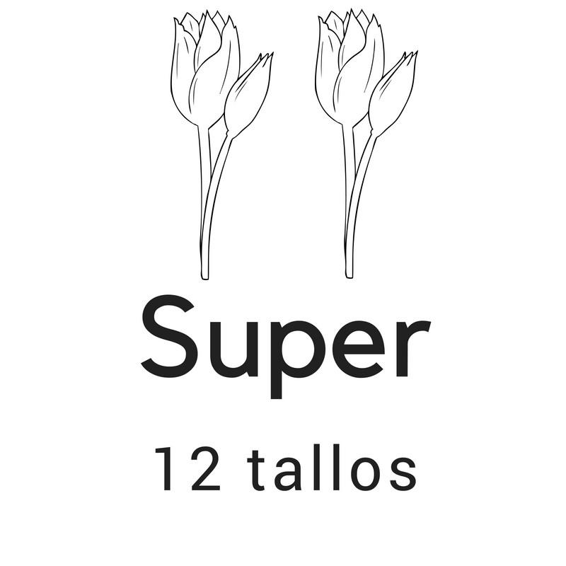 Super 12 tallos