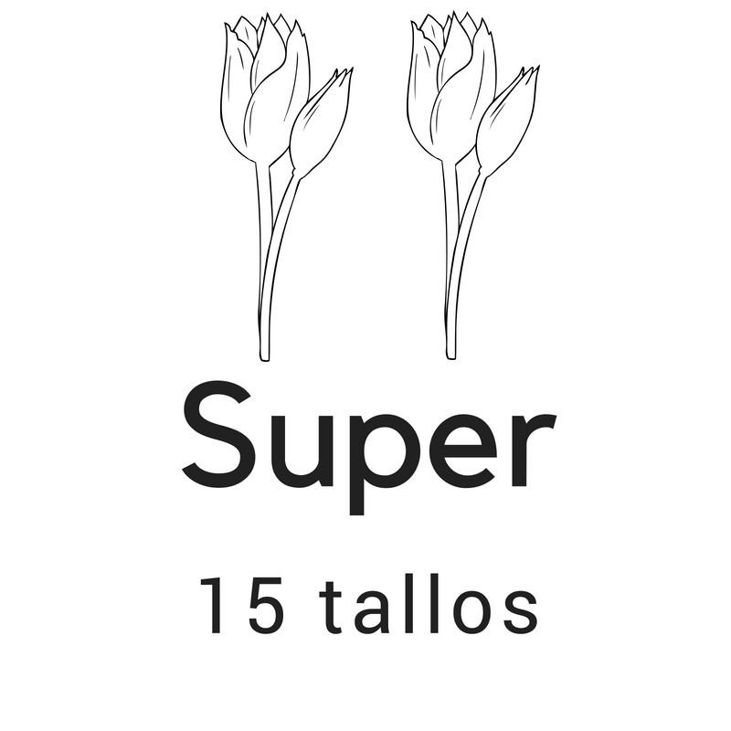 Super 15 tallos
